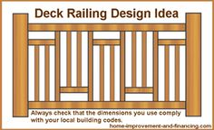 for -on what kind of railing to use for your deck railing design ideas .detail for -on what kind of railing to use for your deck railing design ideas . Wood Deck Railing, Front Porch Railings, Balcony Railing Design, Wood Pergola, Deck Design, Diy Pergola, Railing Ideas, Pergola Kits, Outdoor Railings
