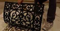 She Used A Rubber DOORMAT To Make THIS! When She Pulls It Off? Remarkable!