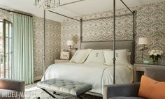 A refurbished bedroom in the Prescott mansion? #LovesEncore