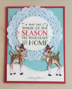 Hi Stampers! It's been a busy few weeks for me - I have had three very successful workshops that featured a card made with the Home For Christmas designer series paper from Stampin Up. I LOVED the...