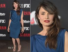 Mia Maestro In Jason Wu - 'The Strain' LA Premiere - Red Carpet Fashion Awards