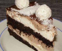 Recipes and Ideas: Cakes Czech Recipes, Ethnic Recipes, Coconut Recipes, Pavlova, No Bake Cake, Food Hacks, Nutella, Chocolate Cake, Cheesecake
