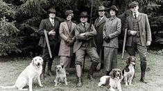 Downton Abbey Hunting Scene - H 2011