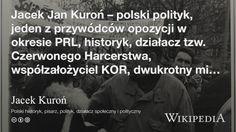 """""""Jacek Kuroń"""" på @Wikipedia: Workers Union"""