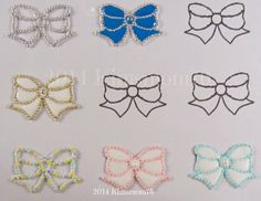 Kimsmom76: Royal Icing Jewelry Transfers - Part 2