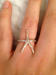 Hey, I found this really awesome Etsy listing at https://www.etsy.com/listing/181603314/starfish-ring