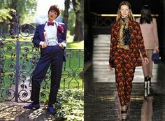 Yesterday and today.  Dandy  www.vogue.it