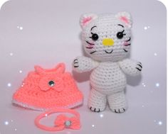0c9711383472 The promised Hello Kitty description Lana, Hello Kitty, Crochet Projects,  Amigurumi, Product