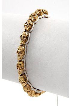 Skull Bracelet DIY Inspo