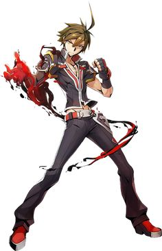 Naoto Kurogane from Blazblue Central Fiction and Bloodedge Experience