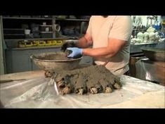 How to make concrete leaves tutorial .part 2 - YouTube