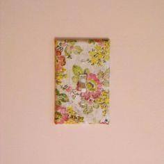 Decoupage Outlet Covers - Scrapbook.com