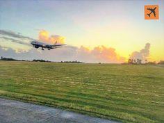 A @British_Airways #B777 landing at Grantley Adams International Airport #BGI in #Barbados #AvGeek #avgeeks #holiday #flying Where are you off to?