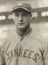 "Lou Gehrig ""The Iron Horse""  best 1st basemen"
