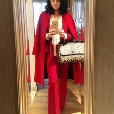 Thanks Paris! Until next time! #paris #ootd #fashion #style #red #dolcegabbana