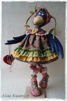 Crow in a dress