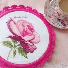 Rose Cross Stitch