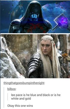 When I figured out that he played both these characters, I think my mind exploded....