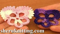Sheruknittingcom: Crochet Easy Flower Tutorial 83