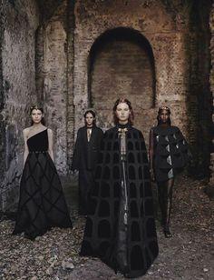 Valentino Haute-Couture FW 2015-2016 Photography: Fabrizio Ferri
