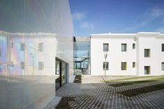 A Pearl: Low-Cost, Iridescent Casa de la Música y Auditorio en Algueña, Spain by Cor & Asociados