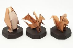 Looking for a great looking stand to display your origami models? Learn how to fold a simple origami stand in this video tutorial.
