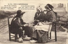 Frankrijk Folklore en Klederdrachten 91X -Fraaie partij Folklore