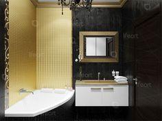 Дизайн ванной в стиле ар-деко   lifeat.su
