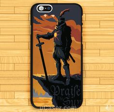 Dark Souls Solaire of Astora iPhone Cases Case