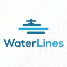 Watter Valve with pipeline Logo Designs For Sale on Stock Logos | Water Lines logo
