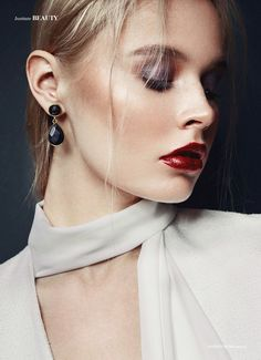 Riot Beauty - Photography by Rubèn Vallejo Beauty Ismael Bachiller Stylist Marta Gon Model Tanya S // Blow