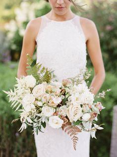 cream and pastel green bridal bouquet Mod Wedding, Floral Wedding, Wedding Colors, Wedding Styles, Wedding Church, Purple Wedding, Fall Wedding, Wedding Rustic, Trendy Wedding