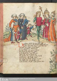 242 [119v] - Ms. germ. qu. 12 - Die sieben weisen Meister - Seite - Mittelalterliche Handschriften - Digitale Sammlungen