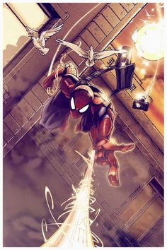 Spider-Man by Mike Petherick - OOoooo I love this