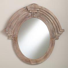 Maddox Mansard Mirror | World Market