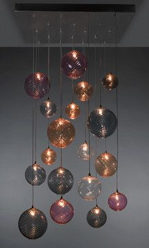 GLOBE Chandelier - contemporary - chandeliers -