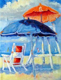 Orange Umbrella, Myrtle Beach