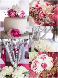 Traditional Indian Wedding: Pretty in Pink   Done Brilliantly