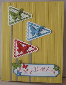 In My Craft Room: Pennant Birthday