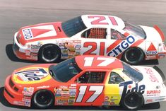 Waltrip racing side-by-side with...Waltrip!