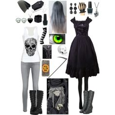 Black Butler: Daughter of the Undertaker by ender1027 on Polyvore