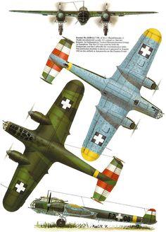 Hungarian Dornier Do-215B