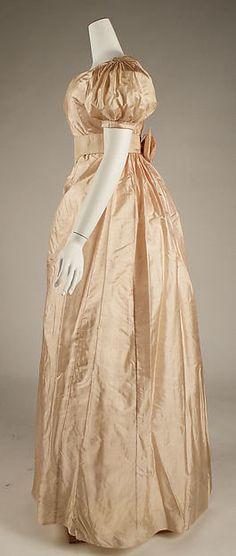 Silk. Ca. 1820.