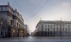 #Piazzadellascala #Milano Project: #LopesBrenna, #Render: #FilippoBolognese #filippobologneseimages  http://www.filippobolognese.ch/images #3d #architecture #archiviz #visualization