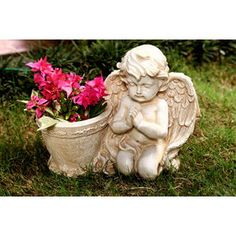 Buy Online : Praying Angel Planter ( gifting and home decor)
