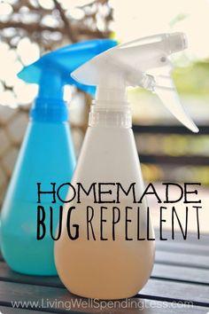 Homemade Bug Repellent Backyard, ideas, garden, diy, bbq, hammock, pation, outdoor, deck, yard, grill, party, pergola, fire pit, bonfire, terrace, lighting, playground, landscape, playyard, decration, house, pit, design, fireplace, tutorials, crative, flower, how to, cottages.