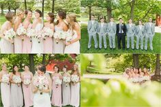 Jake & Katie's Bridal Party at The Farm at Eagles Ridge in Lancaster, PA!