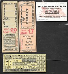 Akron + Cleveland + Cincinnati (mixed dates)