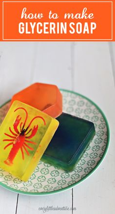 Homemade glycerin soap | A DIY project that's so easy + affordable too!