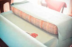 37 RV Hacks That Will Make You A Happy Camper- instructions on how to recover cushions easily!